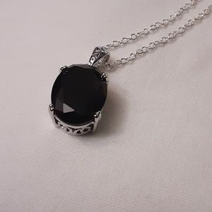 Black as your soul necklace